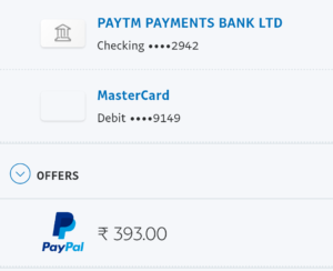 paypal voucher to bank account transfer