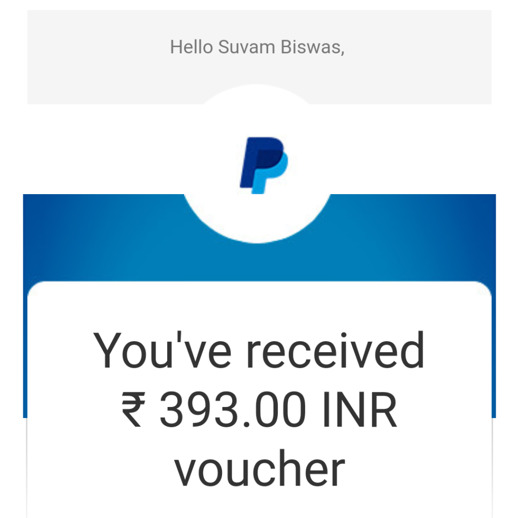 paypal voucher to bank account transfer process