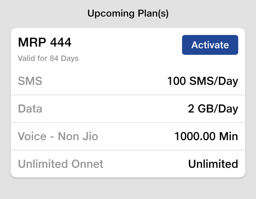 upcoming jio recharge plans