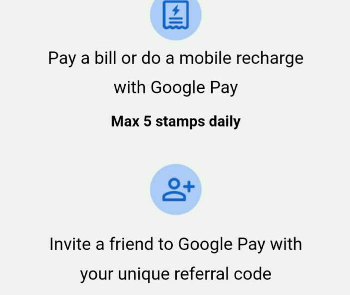 google pay 2020 welcome offer