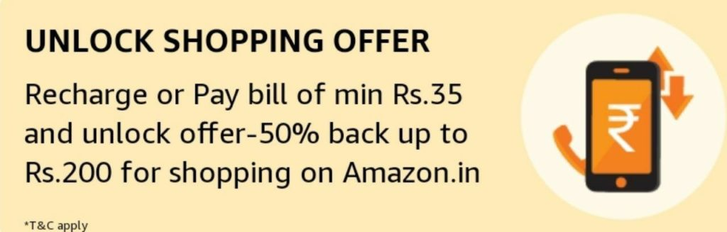 amazon rs 500 cashback shopping offer details