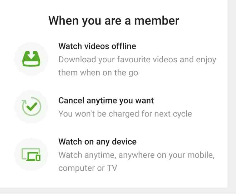 How to cancel hotstar subscription on android