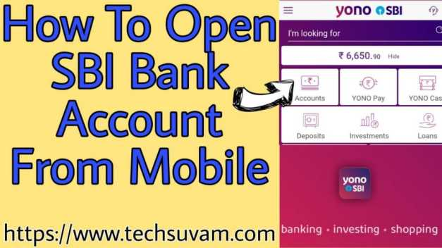 sbi-bank-account-opening-from-mobile