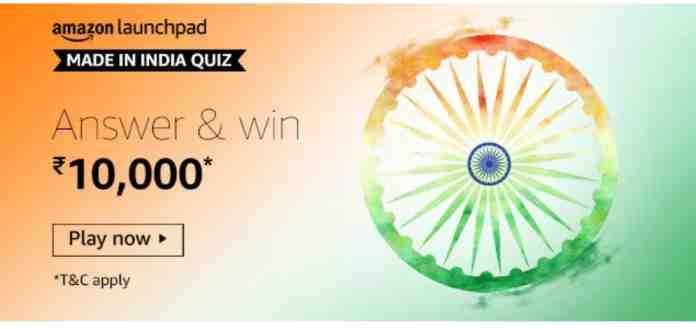 amazon made in india quiz