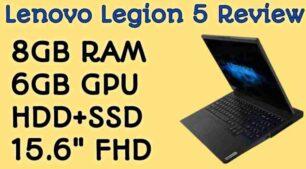 Lenovo Legion 5 Price in India
