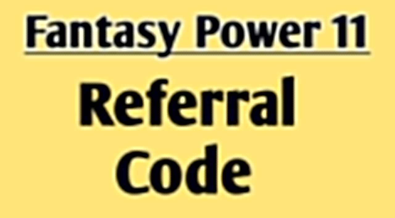 fantasy power 11 referral code