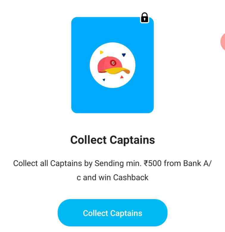paytm collect captains offer