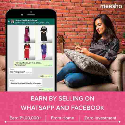 meesho app refer and earn offer