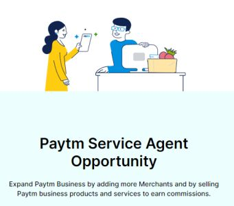 how to earn money through paytm service agent
