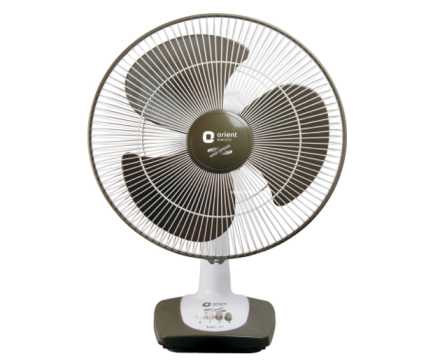 ORIENT Electric Table-27 400mm Table Fan
