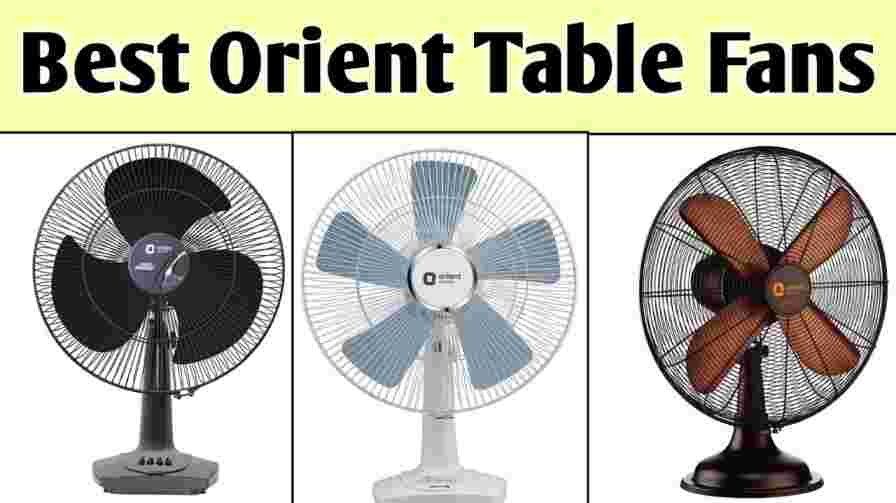 best orient table fan price in india