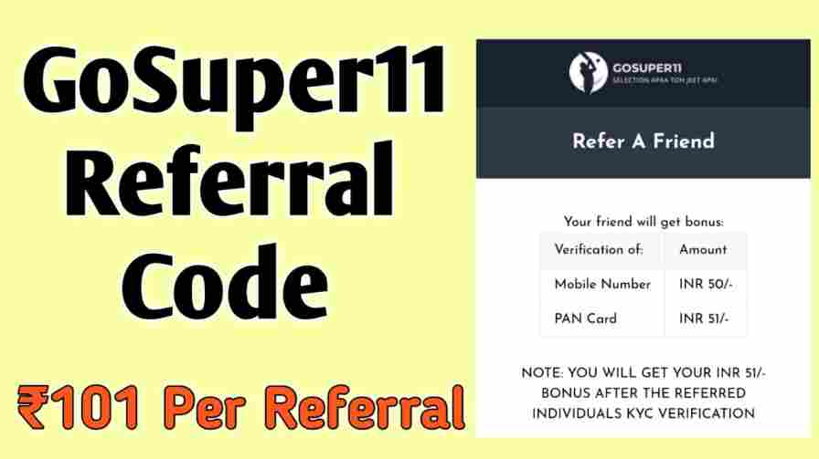 gosuper11 referral code