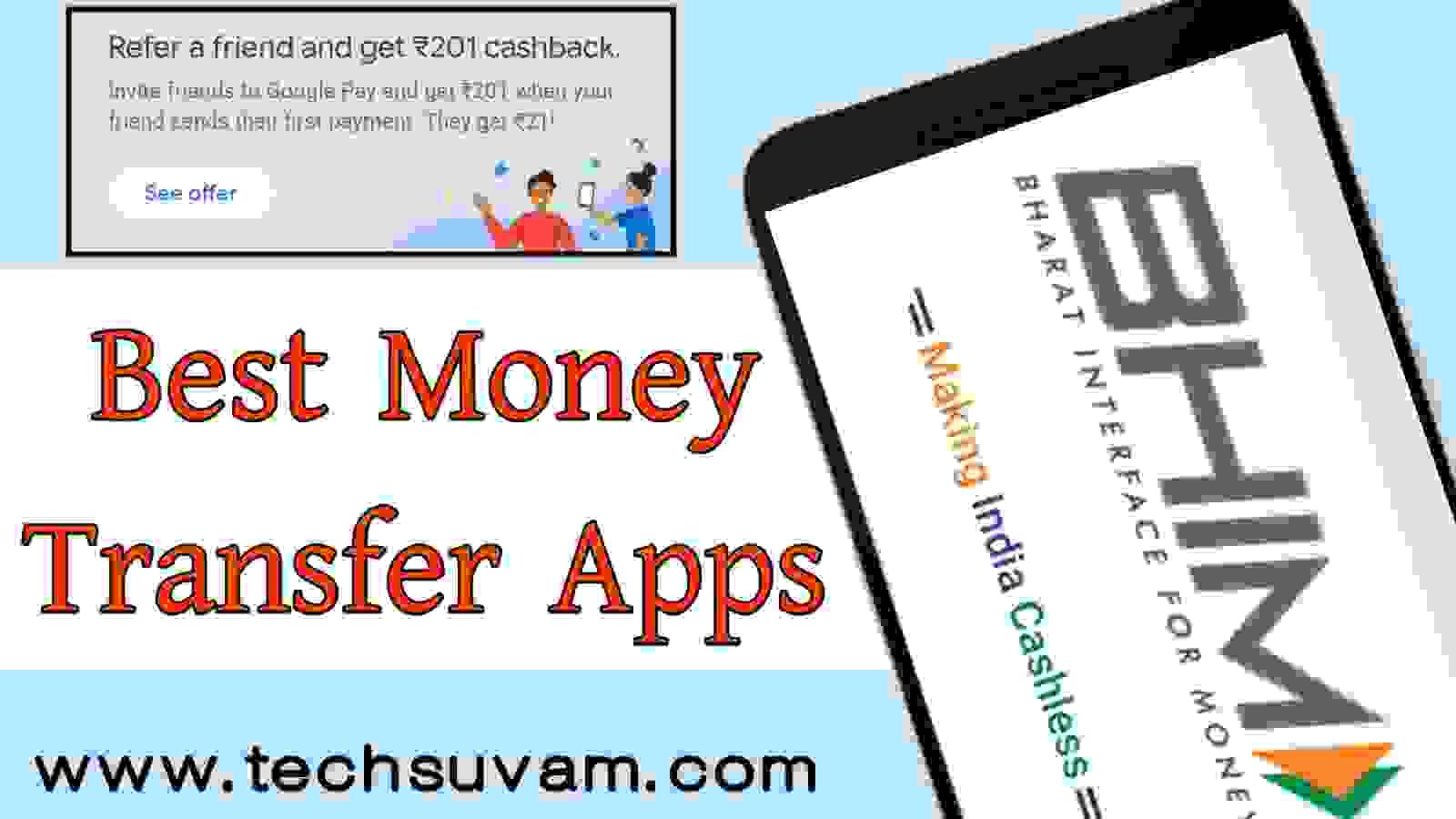 best money transfer apps in India
