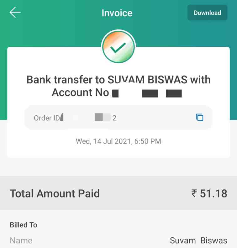 mobikwik wallet balance to bank account transfer process without charges