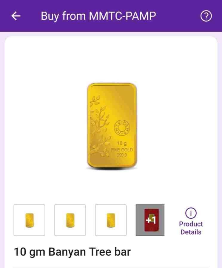 phonepe-gold-coin-bar