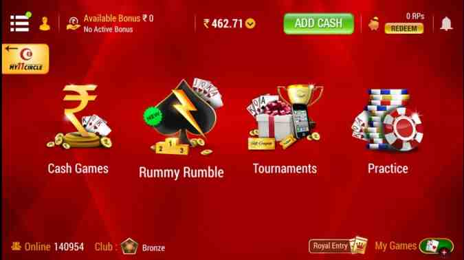 rummy circle referral offer