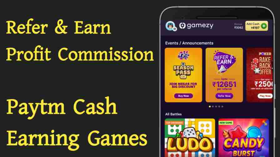 Paytm Cash Earning Games in India